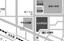 Map: Ikeda City Office