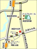 Map: Minoh City Office
